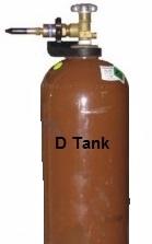 Helium Tank SML D