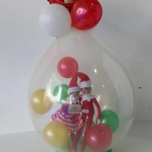 Stuffing Balloon Xmas